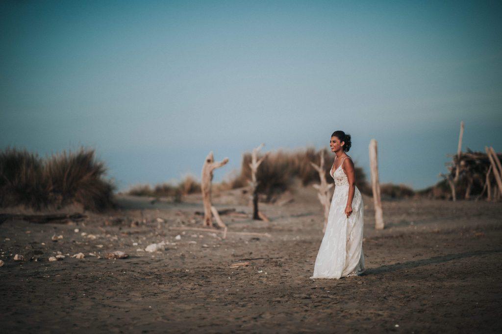 Ben Lévy photographe mariage plage photo mariée bohème