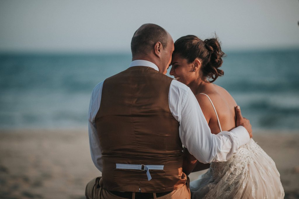 Ben Levy photographe mariage plage photo couple