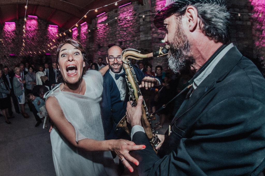Ben Lévy photographe mariage photo famille invités sur le vitf