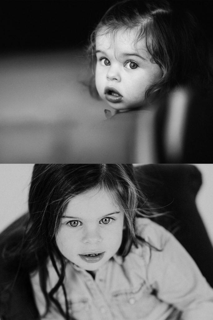 Ben Lévy - Séance photo enfants avant après